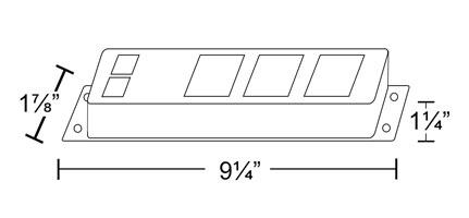 3 Outlet Power Bar Phone Modem Wpb3tt Dimensions