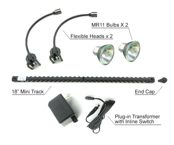sc 1 st  Shemoi Lighting & Mini Track Light Kit MT-21-2 | Shemoi Ent. azcodes.com