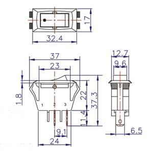 Rocker Switch Diagram Ze 215